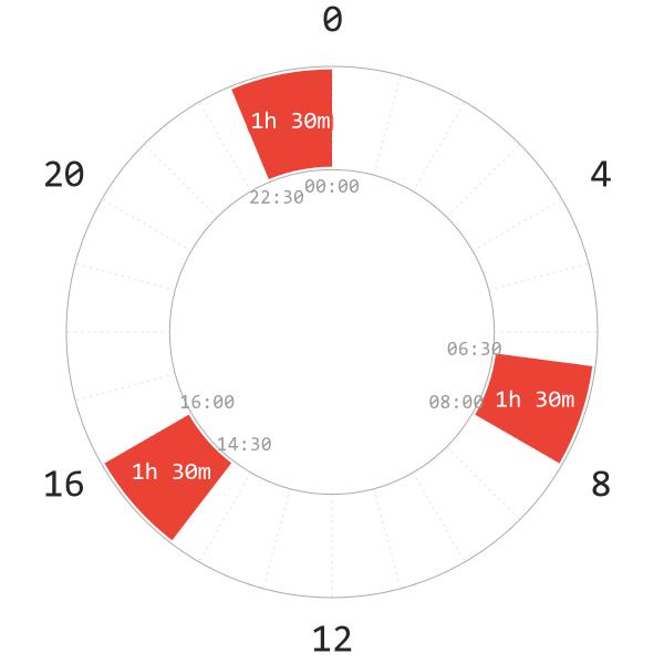 Triphasic Polyphasic Schedule Napchart